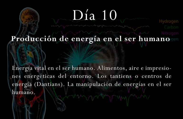 Energía vital en el ser humano. Alimentos, aire e impresiones energéticas del entorno. Los tantiens o centros de energía (Dantians). La manipulación de energías en el ser humano.